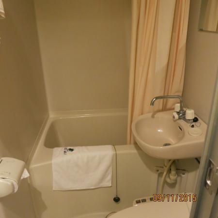 Hotel Livemax Higashi Ueno : Мини ванна