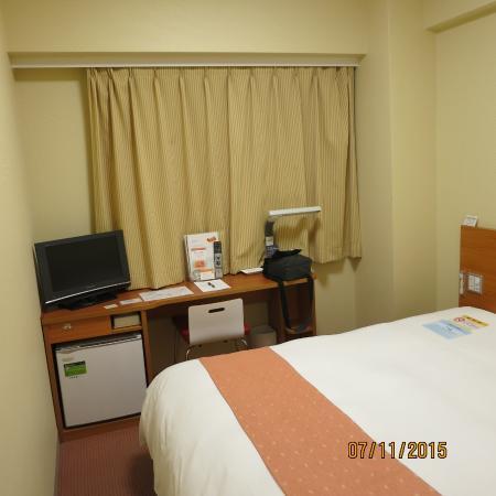 Chisun Inn Munakata: Маленький хороший номер