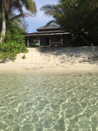 Pulau Joyo: view of room