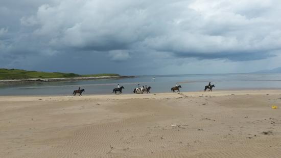 Grange, Irlanda: Strandausritt