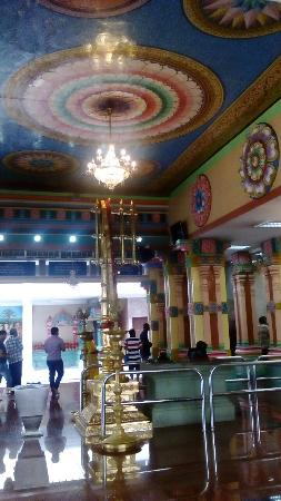 Inside the temple - Picture of Sri Maha Mariamman Temple ...