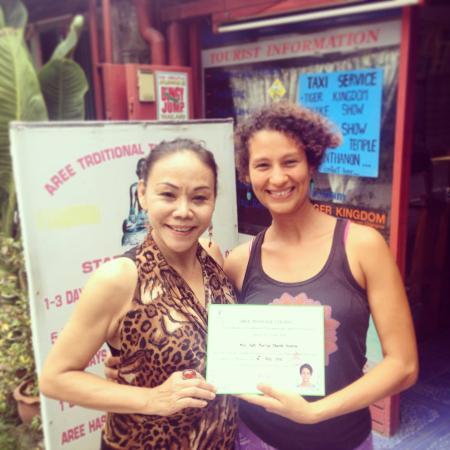 aree thai massage thai silk