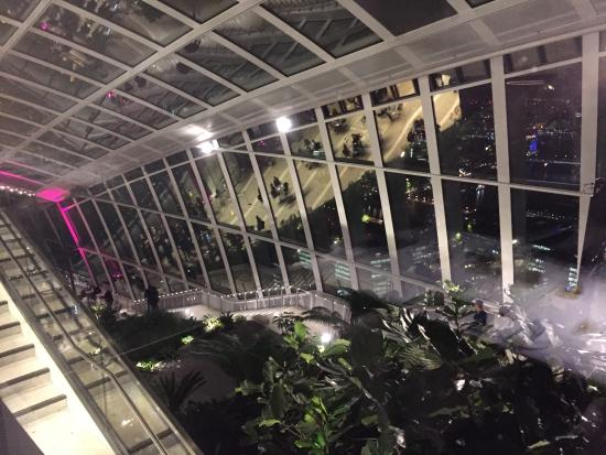View from vinoly room picture of sky garden london for London garden rooms