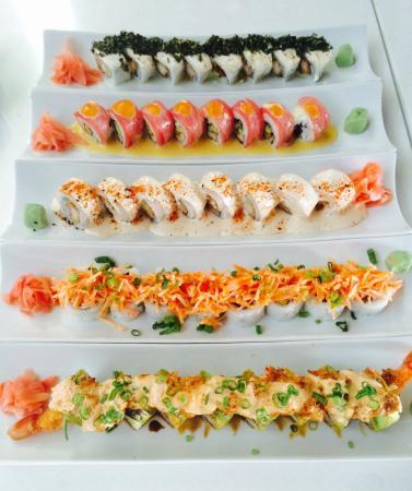 Ketsu Sushi Bar : Sushi!!!!