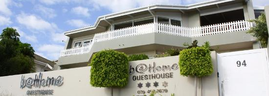 Frontal view of B@home Guesthouse in Mossel Bay