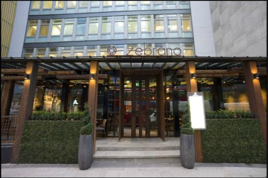 Outside - Picture of City Zebrano, London - TripAdvisor