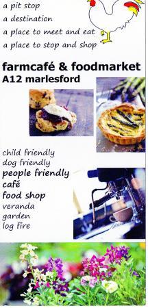 Farm Cafe: menu
