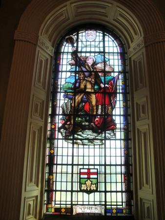 City Hall: Commemorative stained glass windows for WW I