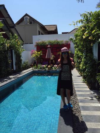 Bonsai Villas: 游泳池水好乾淨