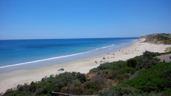 Port Willunga, Australia: View of shipwreck point