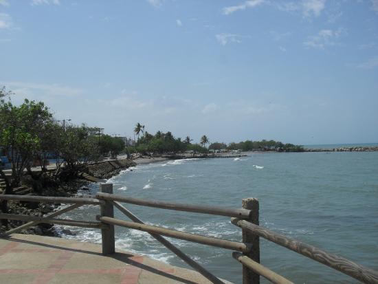 Santiago de Tolu, Colombia: Mirante do Pier