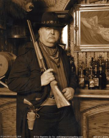 Old Town Portrait Gallery: Western theme