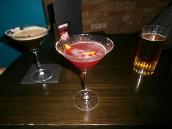 Dirty Martini St Paul's: happy hour