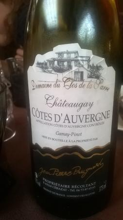 Bort-les-Orgues, Prancis: Vin d'Auvergne