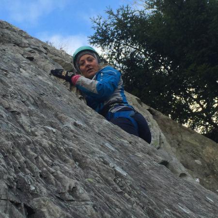 G Adventures Lake District Lake District climbing team building days.