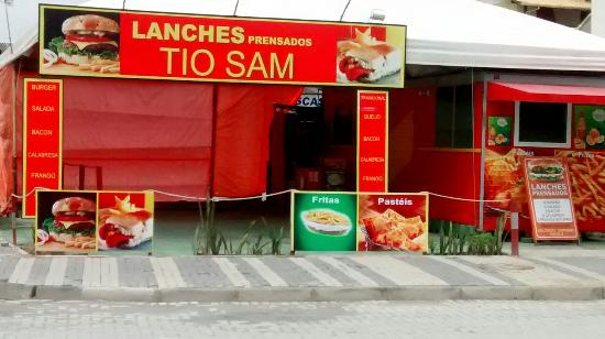 Tio Sam lanches Prensados