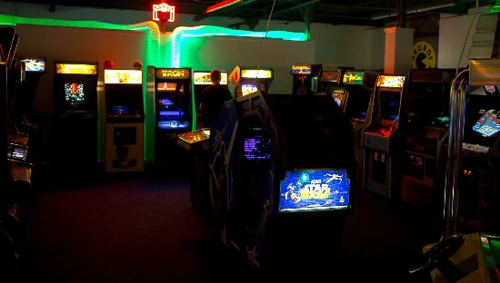 Bury, UK: Some of the classic games at the heart of Arcade Club