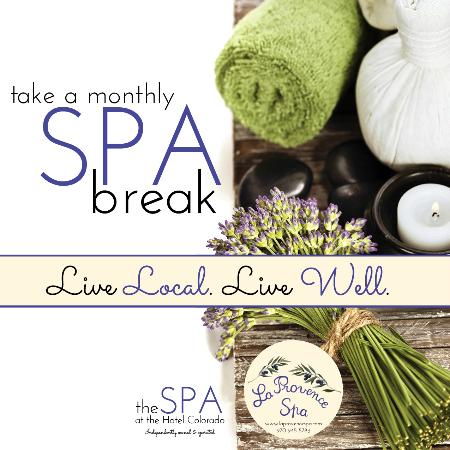 La Provence Spa: Live Local. Live Well. Take a monthly SPA Break