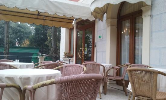 Hotel Villa Cipro: terrazza