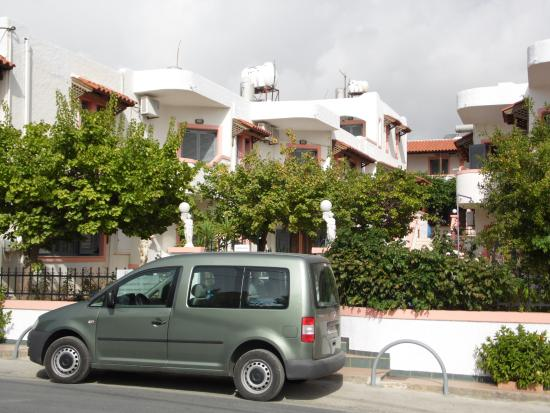 Palmira Apartments : ingresso