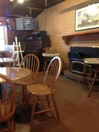 Mother's Kitchen: Interior of restaurant, also has outdoor seating in back