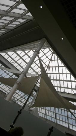 Tallaght, ไอร์แลนด์: view of the skylight from the third floor