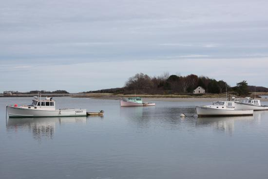 Cohasset, Массачусетс: View from the table