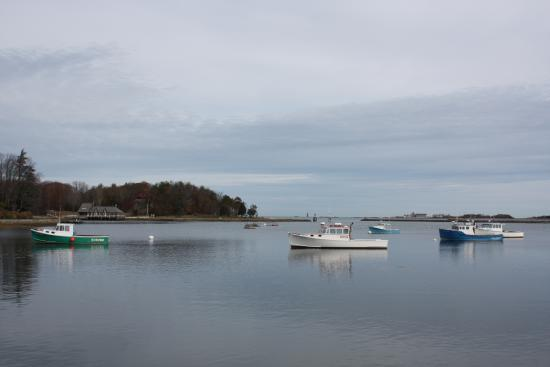 Cohasset, MA: View from the table