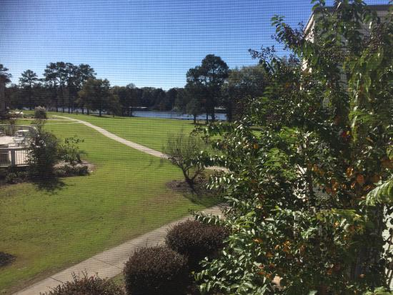 Lake Blackshear Resort Golf Club: View from screened porch