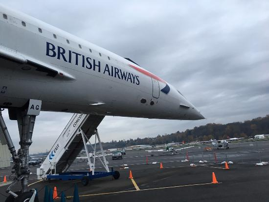 The Museum Of Flight: The Concorde