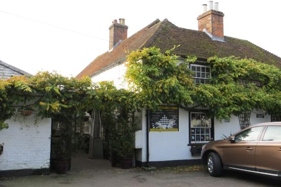 Chequers Inn: The outside of the Chequers