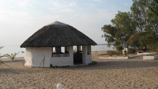 Nkhotakota, Malawi: the sunset bar