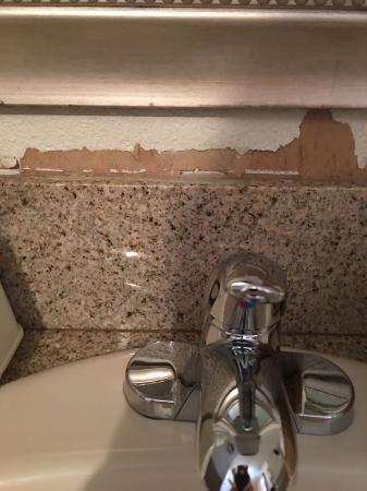 Hotel Texas: condition of wallpaper