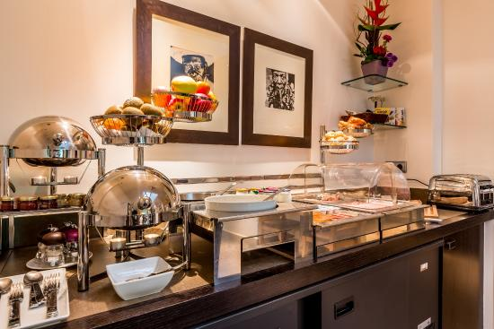 Hotel Duret: Breakfast room