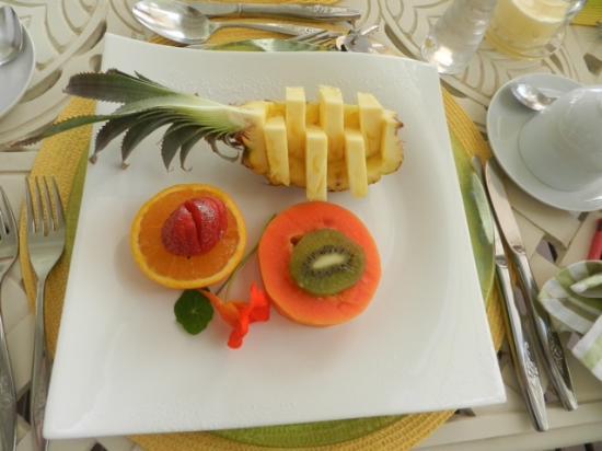 Air del Mar: Le petit déjeuner