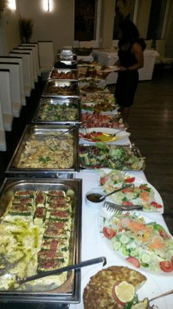 Il Terrazzino: Ottimi bouffet per banchetti-cerimonie-weinachtfeier prezzi da concordare con lo chef