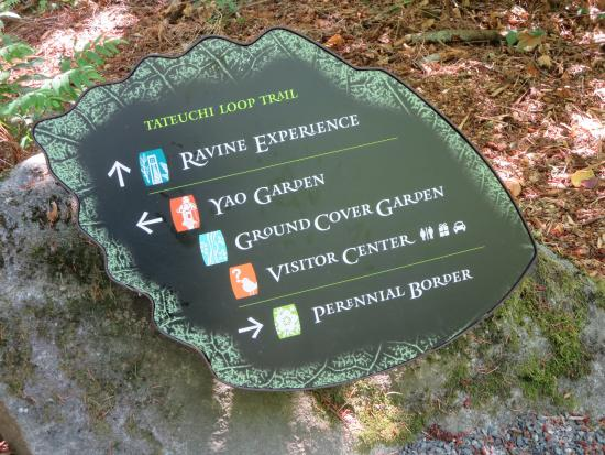 Bellevue Botanical Garden: The Different Sections In The Gardens