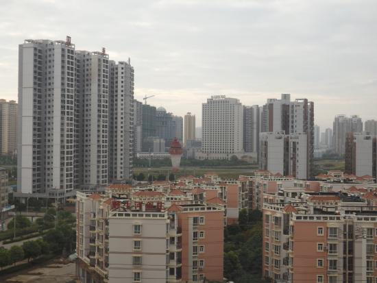 Laibin, China: Vista desde habitación