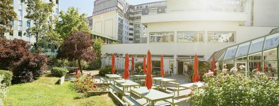 FIAP Jean Monnet : Jardin terrasse