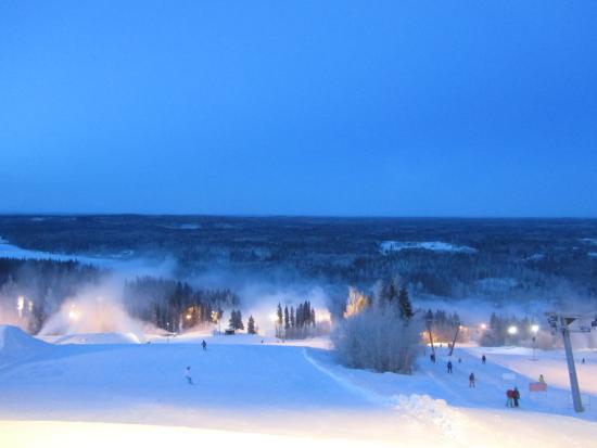 Palkane, ฟินแลนด์: Вид на склоны