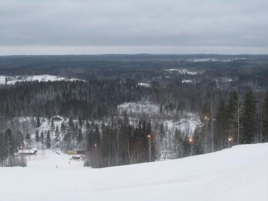 Palkane, ฟินแลนด์: Склон