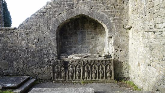 County Roscommon, Ierland: Felim O' Connor's grave