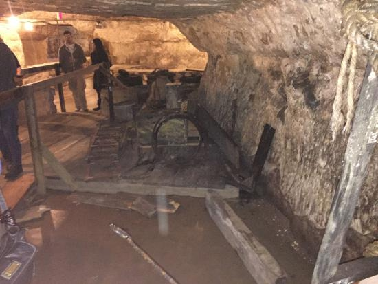 Joseph Wolf Brewery Cave Tours: Cave artifacts