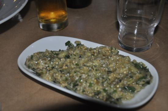 Faros, اليونان: Eggplant salad