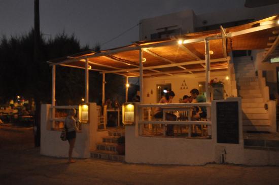 Faros, اليونان: Flaros at night