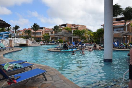 Divi aruba phoenix beach resort pool picture of divi for Aruba divi phoenix