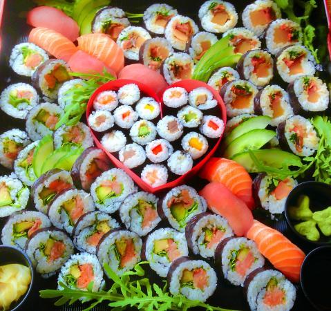 WA CAFE : Sushi for Wedding