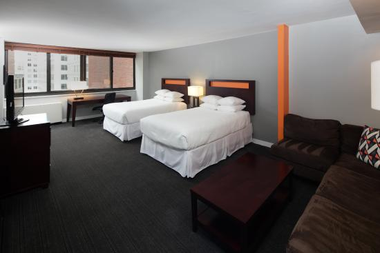 Double Twin Bedroom Picture Of Hotel Rl Washington Dc By Red Lion Washington Dc Tripadvisor