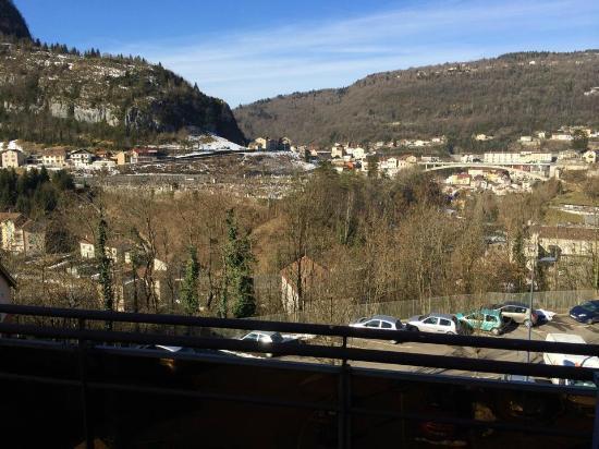 Hotel Saint-Hubert: Vue de la chambre