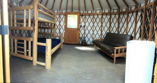 La Grande, Όρεγκον: Yurt Interior